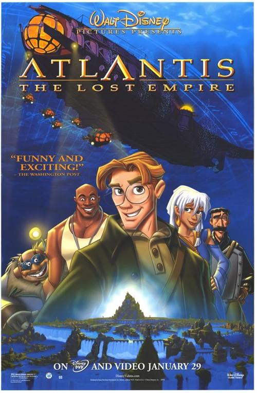 失落的帝国_失落的帝国 (2001)AtlantisThe Lost Empire - 《亚特兰蒂斯:失落的帝国 ...