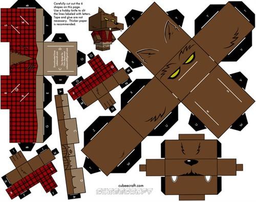 龙猫折纸教程图解;