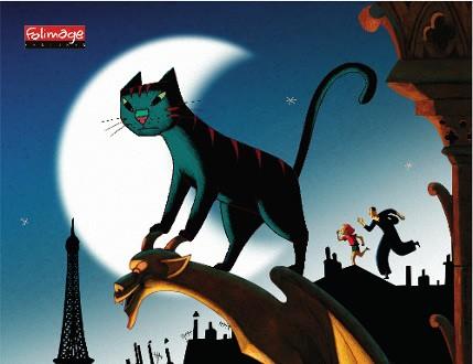 巴黎童话——法国动画电影《猫在巴黎》