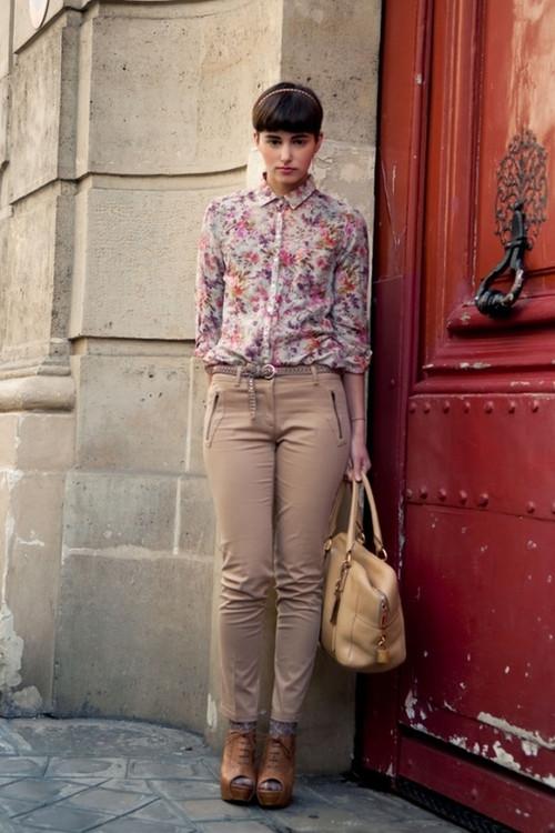 最爱高个子的短发帅女生欧洲街拍