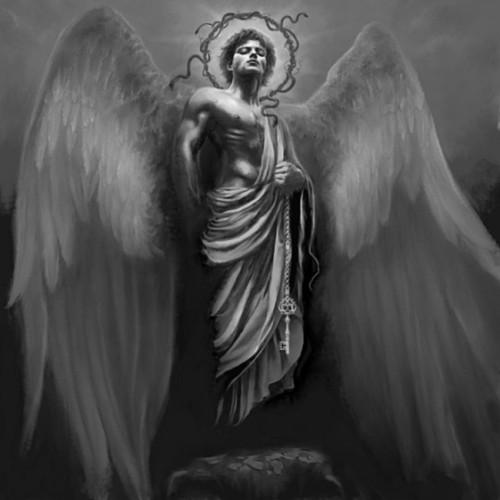 情侣纹身/恶魔天使之翼刺青签名图片