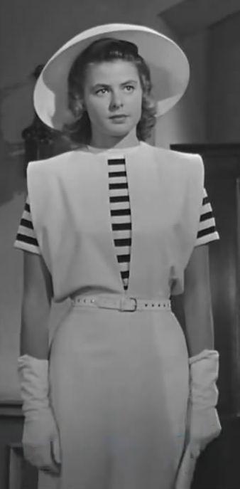 一部卡萨布兰卡让我完见识到英丽褒曼的美