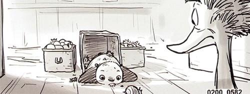 功夫熊猫2 手稿