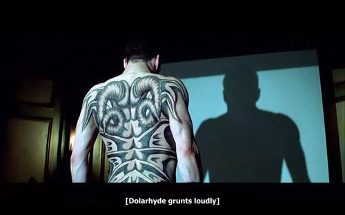 电影里的各类纹身,你能想到多少? 变形金刚 电影