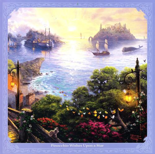 七月:《皮诺曹在星星下许愿》(右)