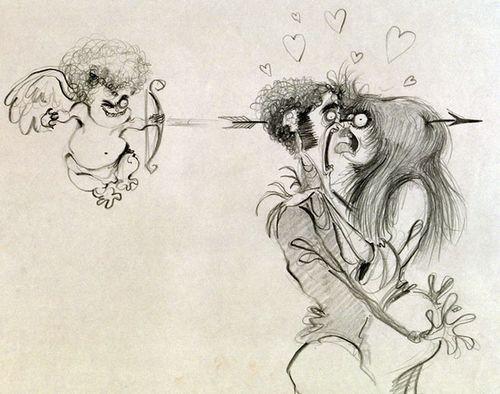 蒂姆·伯顿tim burton的哥特式画作绝对秒杀你!