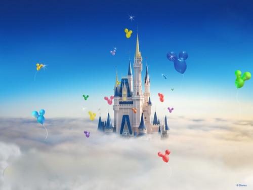 动画可爱的小老鼠背景