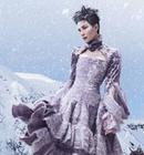 王菲雪山之顶时尚写真