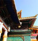 西宁塔尔寺的美妙风光