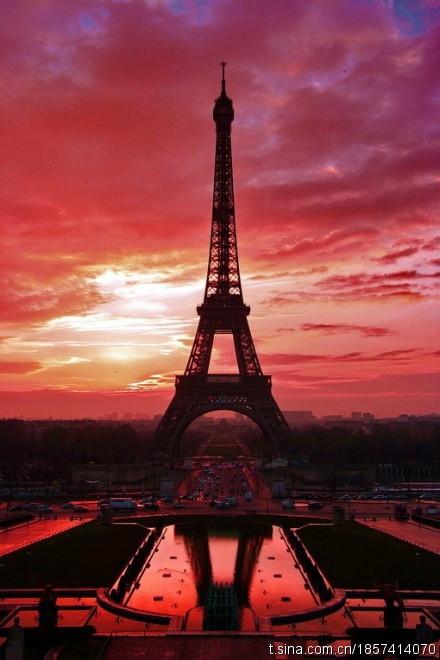 埃菲尔铁塔,浪漫之地