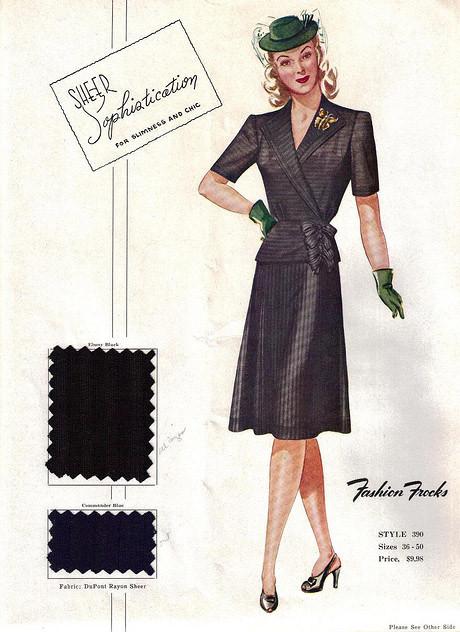 上世紀九十年代的服裝營銷圖片