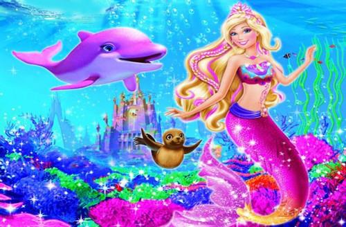 芭比之美人鱼历险记2 barbie in a mermaid tale2 》舞蹈