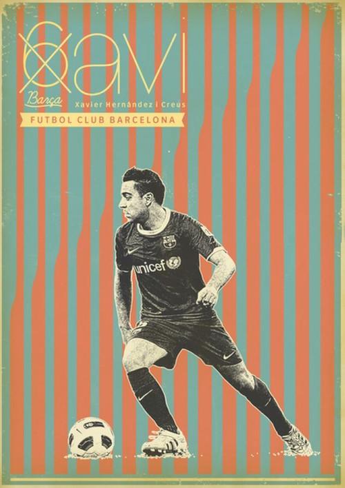 足球明星复古海报特辑