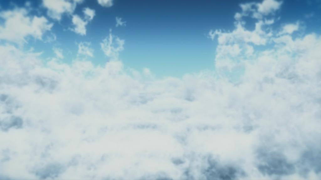 灰色天空云雾背景素材ps