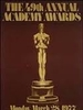 第49届奥斯卡金像奖 The 49th Annual Academy Awards (1977)