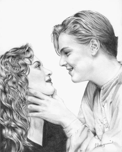 jack and rose coloring pages - photo#21