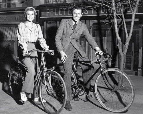 大明星们一起骑自行车体育旅游图片