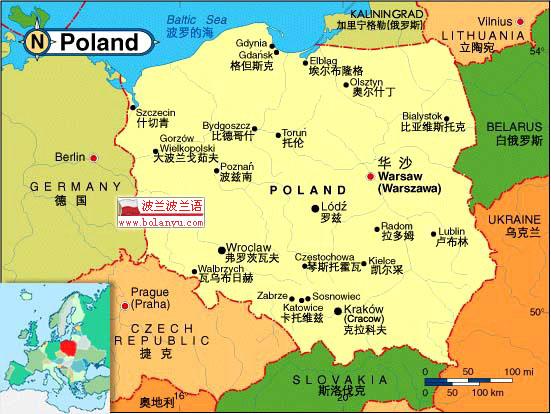 俄罗斯 欧洲地图