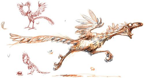 冰川世纪动物手绘