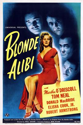金发美女的不在场证明( 1946 )