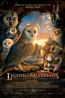 猫头鹰王国:守卫者传奇( 2010 )