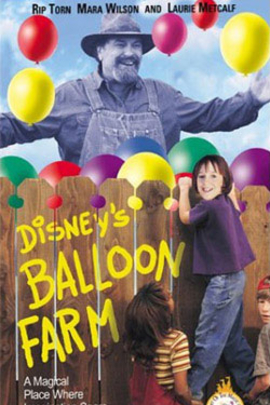 彩色气球村