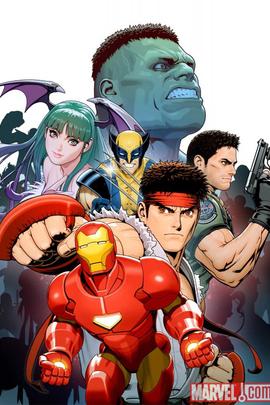 超级漫画英雄对卡普空:超级英雄的碰撞( 1998 )