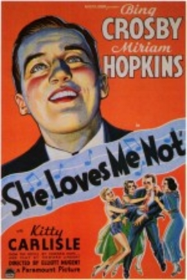 She Loves Me Not( 1934 )