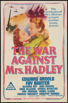 The War Against Mrs. Hadley( 1942 )