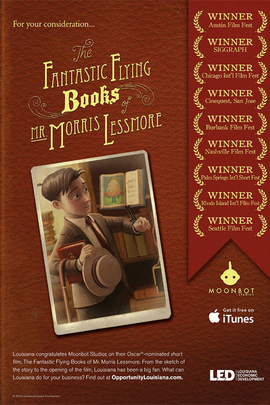 莫里斯·莱斯莫先生的神奇飞书( 2011 )