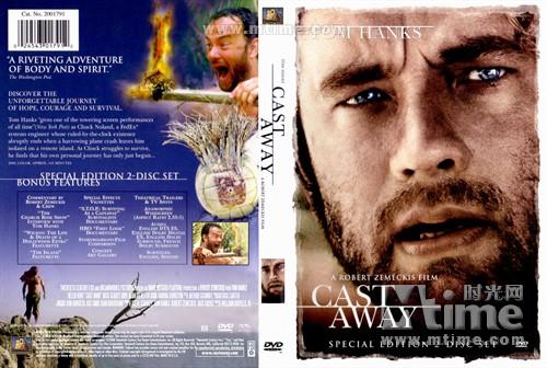 荒岛余生cast away(2000)dvd封套 #07