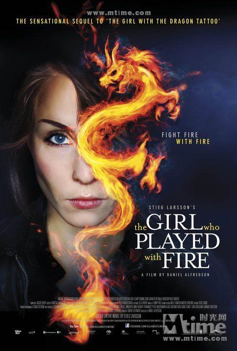 玩火的女孩Flickan som lekte med elden(2009)海报(美国) #01