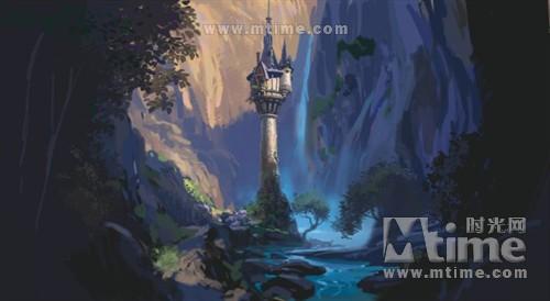 《长发公主》海报+特辑 CG动画打造梦幻场景 - Tommy·W - 视觉表现·游戏特效·原创教程