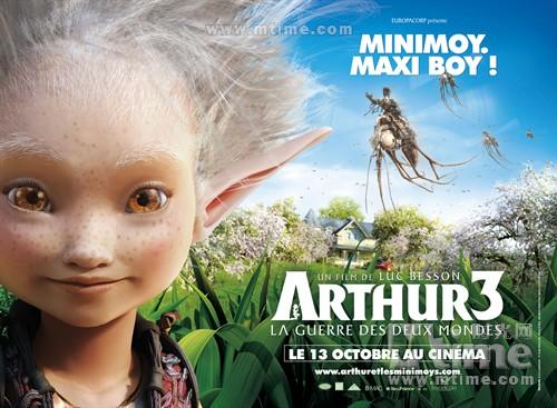 亚瑟3:终极对决Arthur et la guerre des deux mondes(2010)角色海报 #01