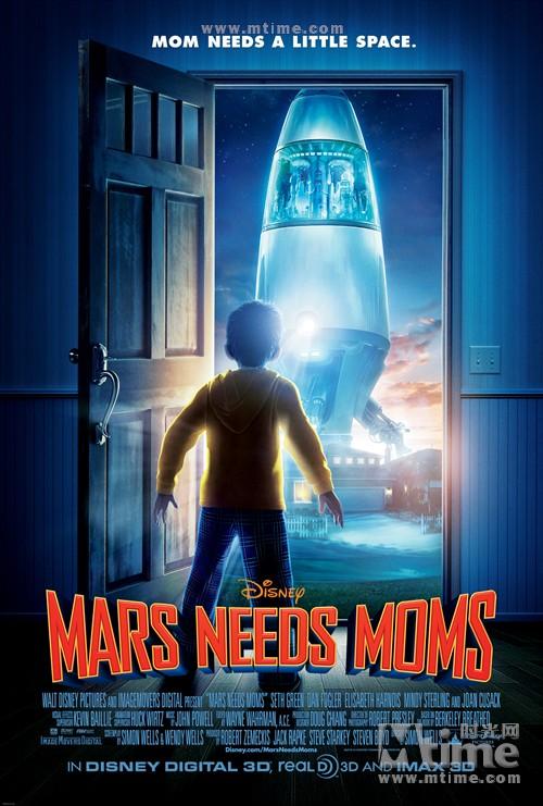 火星救母记Mars needs moms(2011)海报 #01