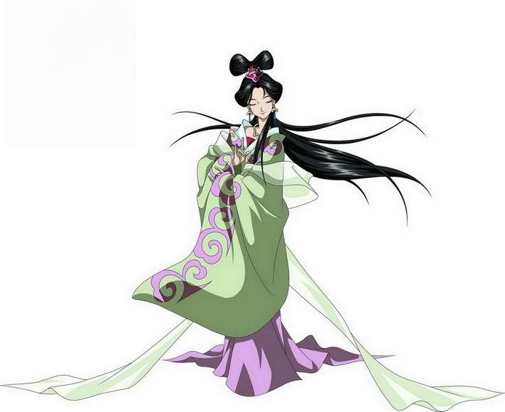 《三国演义》动画版中的貂蝉图片