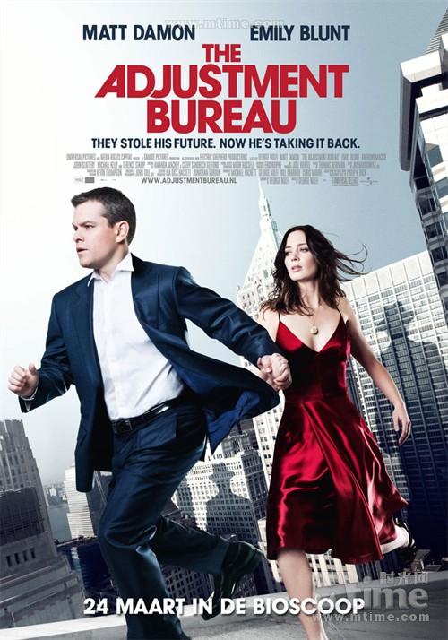命运规划局The adjustment bureau(2011)海报 #01