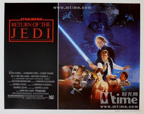 星球大战3:武士复仇Star Wars: Episode VI - Return of the Jedi(1983)海报 #14