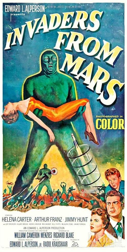 火星人入侵地球 海报 #03
