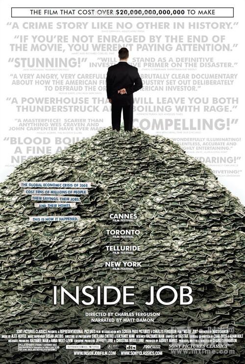 监守自盗Inside Job(2010)海报 #01