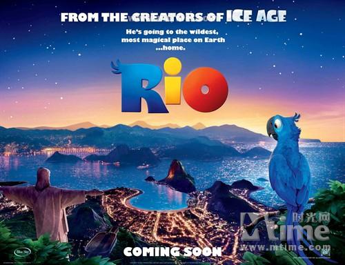 里约大冒险Rio(2011)预告海报 #15