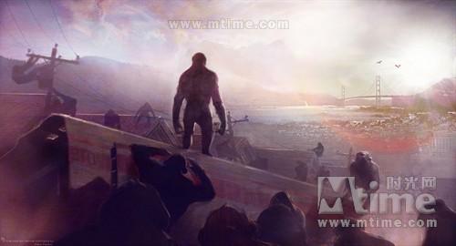 猩球崛起Rise of the planet of the apes(2011)工作照 #04