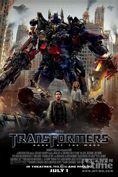 变形金刚3Transformers: Dark of the Moon(2011)海报 #01