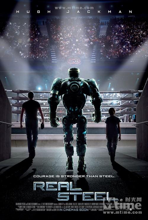 铁甲钢拳Real steel(2011)海报 #01