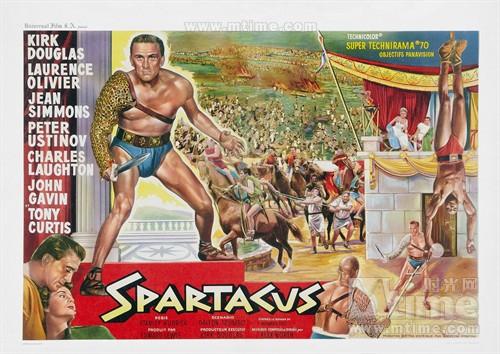 斯巴达克斯海报-图片打分游戏 - Mtime时光网
