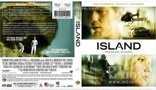 逃出克隆岛 dvd封套 #04