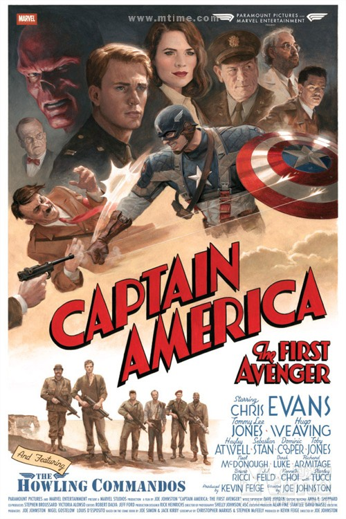 美国队长Captain America: The First Avenger(2011)海报 #04