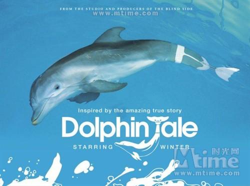 海豚的故事Dolphin tale(2011)预告海报 #02