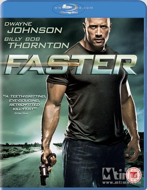 极速复仇电影_极速复仇Faster(2010)蓝光封套(英国) #06
