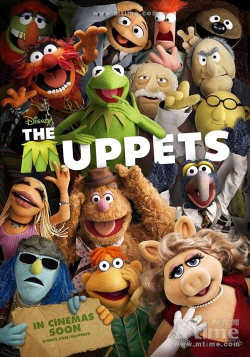 布偶The Muppets(2011)预告海报 #04